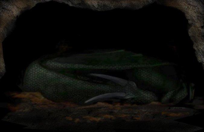 sleeping dragon